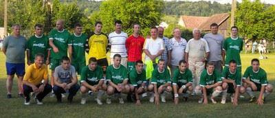 Bajnokcsapat Megyei II. osztály 2010.-2011. szezon