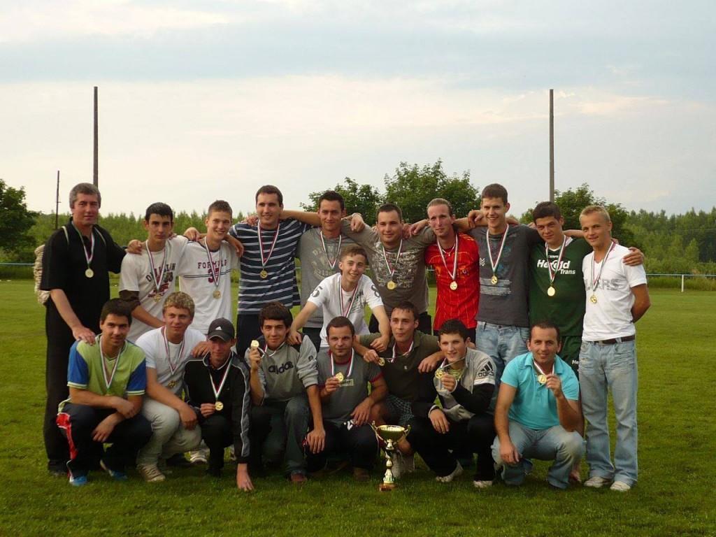 Bajnokcsapat U21 Megyei II. osztály 2007.-2008. szezon