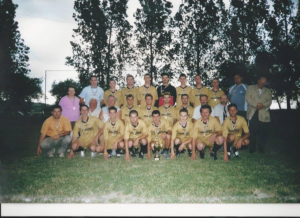Ezüstérmes felnőttcsapat Megyei II. osztály 2006.-2007. szezon