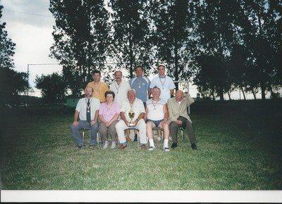 Támogatók, vezetőségi tagok Ezüstérmes felnőttcsapat Megyei II. osztály 2006.-2007. szezon